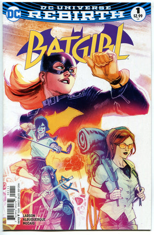 Batgirl #1 1st Print Cover A NM DC Comics REBIRTH