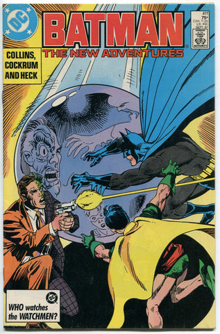 Batman #411 Two Face Dave Cockrum Art 1987 VF - redrum comics