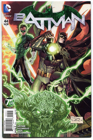 Batman #44 New 52 Green Lantern 75th Anniversary Variant Cover Mr Bloom NM - redrum comics