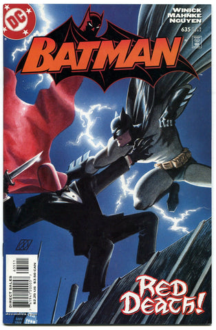 Batman #635 1st appearance of Jason Todd as Red Hood VF+ DC Comics - redrum comics