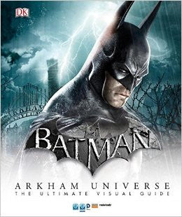 "NYCC 2015 DC Batman Arkham Universe The Ultimate Visual Guide 17"" x 22"" Poster - redrum comics"