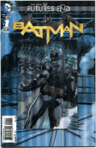Batman #1 One Shot 3D Lenticular Cover DC Comics Futures End New 52 - redrum comics