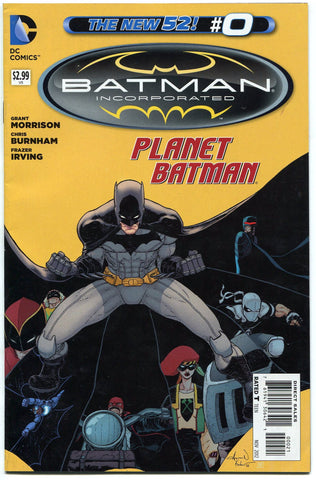 Batman Incorporated #0 Aaron Kuder Variant Planet Batman New 52 Grant Morrison