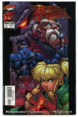 Battle Chasers #2 by Joe Madureira Cliffhanger Image Comics 1998 VF/NM