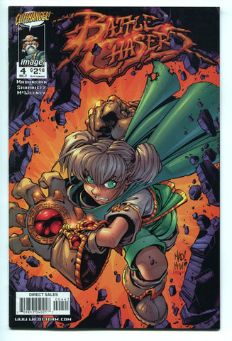 Battle Chasers #4 by Joe Madureira Cliffhanger Image Comics 1998 VF/NM