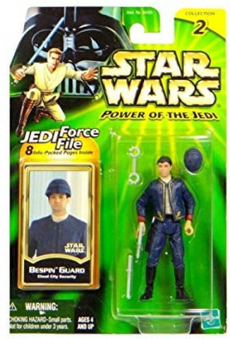 Star Wars POTJ Power of The Jedi Bespin Guard Cloud City Security Action Figure