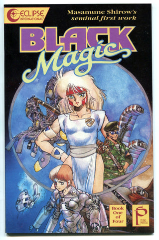 BLACK MAGIC #1 ECLIPSE Shirow Masamune 1st Manga Work (GHOST IN THE SHELL)
