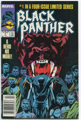 Black Panther #1 Fine Limited Series 1988 Marvel Comics - redrum comics