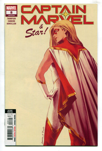 Captain Marvel #8 2nd Printing 1st Appearance Of Star Marvel Comics 2019