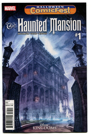 The Haunted Mansion #1 Halloween Comicfest Variant Marvel Comics 2016 NM