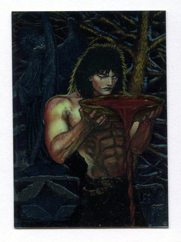 The Crow City of Angels Chromium Card #1 A Draft of Blood James O'Barr Art