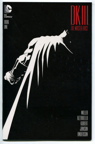 Batman Dark Knight III DK3 Master Race #1 DKIII Regular Cover 1st Print NM Frank Miller