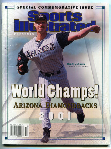 Sports Illustrated Commemorative Edition Arizona Diamondbacks World Series 2001