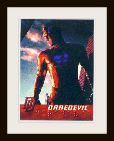 DareDevil Original Movie promo card P2 Ben Affleck MINT