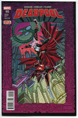 Marvel Comics Deadpool 2099 #12 (2016) NM 1st Zenpool Deadpool's daughter