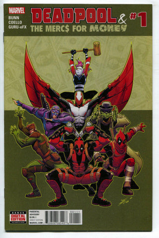 Deadpool and the Mercs for Money (2016 Marvel 2nd Series) #1A VF