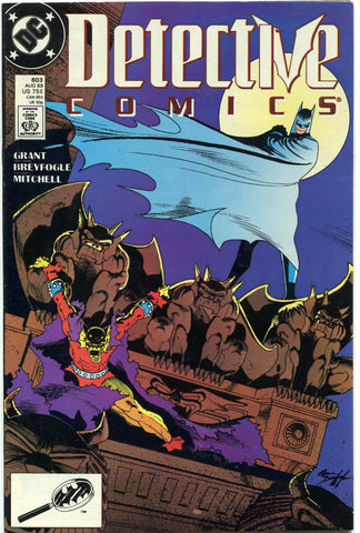 Detective Comics #603 Batman Etrigan the Demon 1989 Fine Norm Breyfogle - redrum comics
