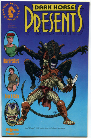 Dark Horse Presents #36 1st Aliens VS Predator AVP in pop culture VF - redrum comics