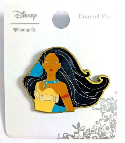 Disney Loungefly Pocahontas American Indian Princess Enamel Pin