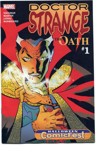 Doctor Strange The Oath #1 Halloween Comicfest 2015 Near Mint 1st Nicodemus West - redrum comics