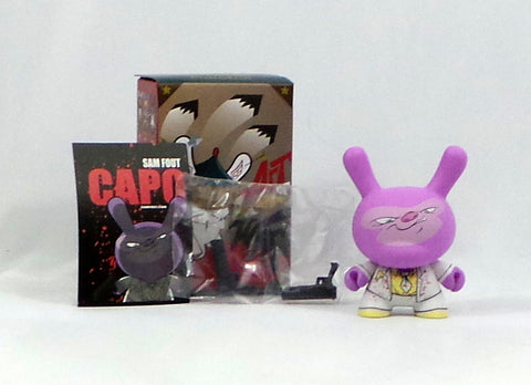 "Kidrobot 3"" Dunny Art of War 2014 Sam Fout Capo Hitman 2/20 Complete"