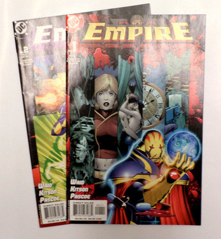 Mark Waid Empire Issues #1 and 2 2003 DC Comics Barry Kitson