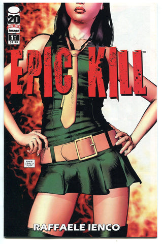 Epic Kill #1 NM (May 2012) Image Comics 1st Print Raggaele Ienco - redrum comics