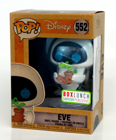 Funko Pop! Disney EVE Wall-E #552 Box Lunch Earth Day Exclusive Figure