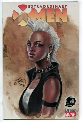 Extraordinary X-Men #1 Siya Oum Phantom Color Variant Cover NM Marvel Comics