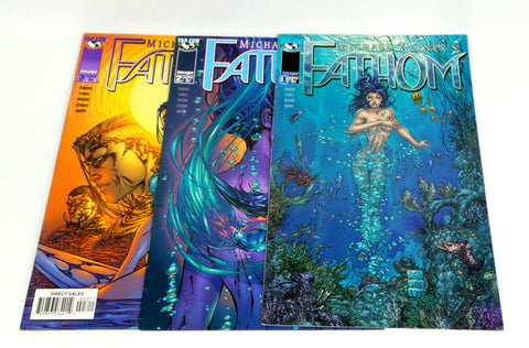 Michael Turner's Fathom Image Comics issues #1 2 3 set lot VF/NM Witchblade