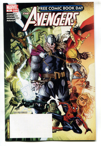 Free Comic Book Day 2009 FCBD Avengers #1 NM Unstamped Marvel Comics