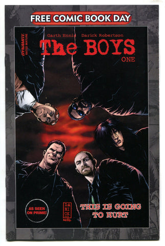 FCBD 2020 The Boys #1 NM Garth Ennis Unstamped Dynamite Comics