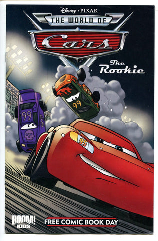 Disney Pixar CARS The Rookie #1 FCBD Free Comic Book Day 2009 NM