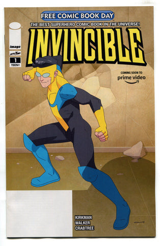 FCBD 2020 Invincible #1 NM Robert Kirkman Unstamped Image Comics