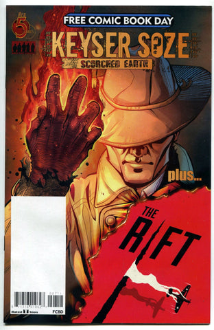 Keyser Soze Scorched Earth / The Rift Flip Book Red 5 Comics FCBD 2017 Unstamped