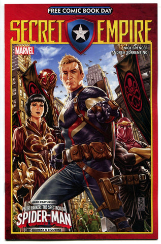 Free Comic Book Day Secret Empire #1 FCBD Unstamped Marvel Comics NM