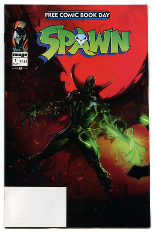 Spawn #1 FCBD 2019 Reprints First issue Unstamped Todd McFarlane NM