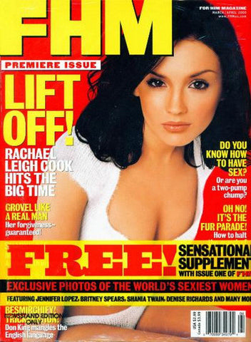 FHM Premiere 1st Issue 1 Rachel Leigh Cook Still Sealed Maxim - redrum comics