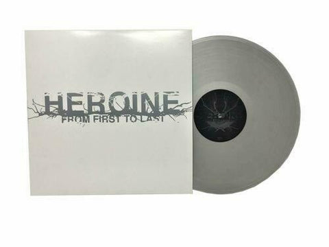 From First To Last HEROINE Silver Color Vinyl LP Hot Topic Exclusive New Sealed