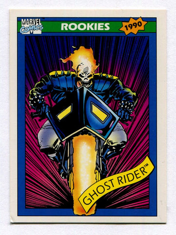 1990 Marvel Universe Series 1 Impel Ghost Rider #82 Danny Ketch Card