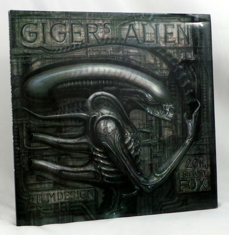 H. R. GIGER's ALIEN RARE 1979 Hardcover Book MORPHEUS 6th Print Biomechanics