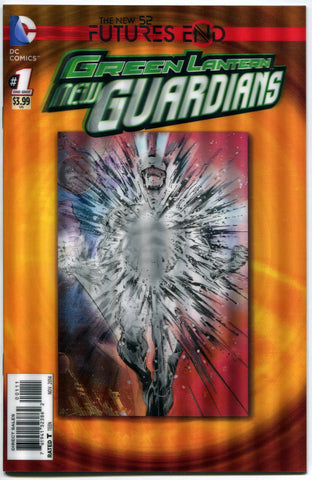 Green Lantern New Guardians #1 3D Lenticular Cover DC Comics Futures End 52 NM - redrum comics