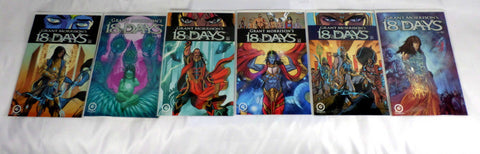 18 Days 1 2 3 4 with Variants NM Grant Morrison Comic Lot Run Set Graphic India - redrum comics