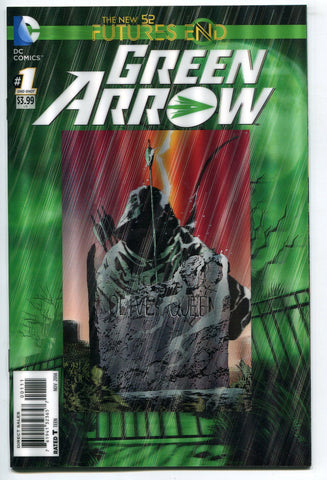 Green Arrow #1 One Shot 3D Lenticular Cover DC Comics Futures End New 52