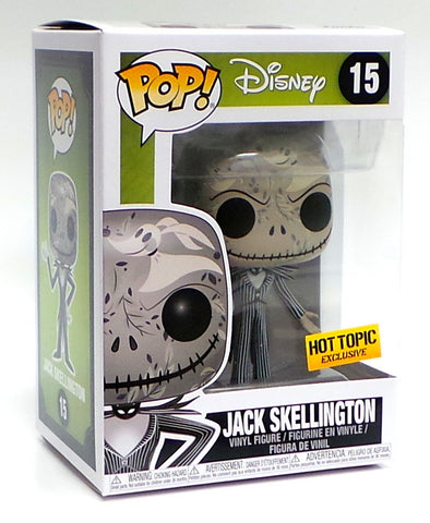 Funko POP! Floral Jack Skellington Nightmare Before Christmas Hot Topic Figure