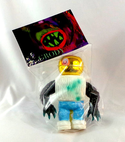 Grody Shogun One Off Original Custom LuluBell Sofubi Vinyl Figure Japan