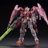 Bandai Limited RG 1/144 Gundam OO Raiser TRANS-AM LTD Clear Vesion Gunpla Figure