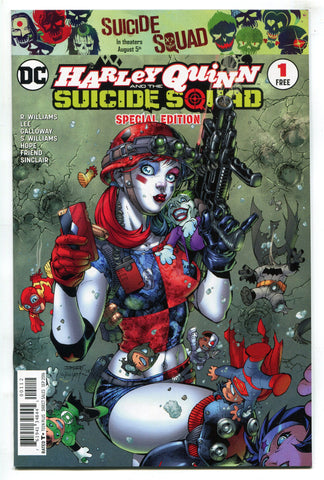 DC Comics Harley Quinn Suicide Squad Special Edition #1 NM Jim Lee Art 2016