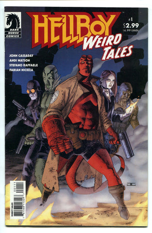 Hellboy Weird Tales #1 VF Dark Horse Comics 2003 Mike Mignola - redrum comics