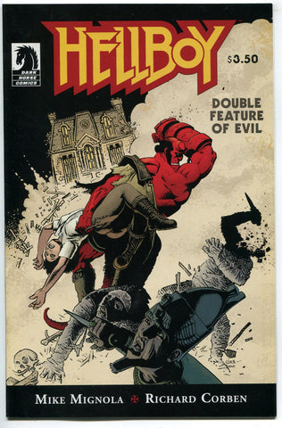 Hellboy Double Feature of Evil One-Shot Mike Mignola Richard Corben Dark Horse